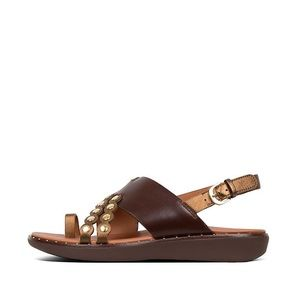 FITFLOP Women's SCALLOP Leather Back-Strap Sandals